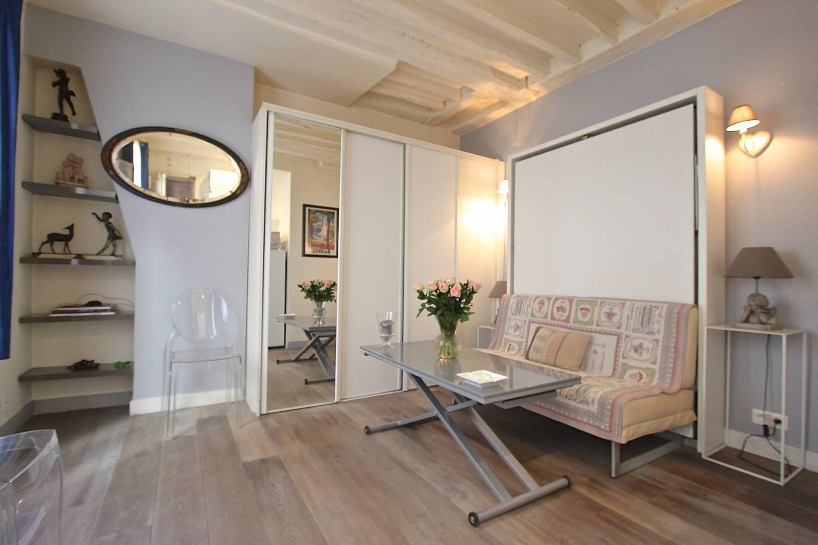 Rental Studio Paris 2nd